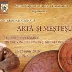 Conferința ARTĂ ŞI MEŞTEŞUG
